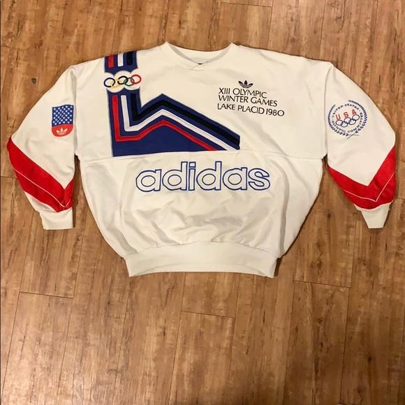 Vintage 1980 Lake Placid Olympics Sweatshirt